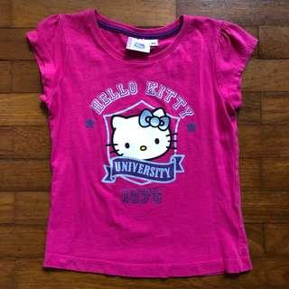 Authentic Hello Kitty tee 6yo