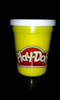 Play-doh Modeling compound color_white 1stock