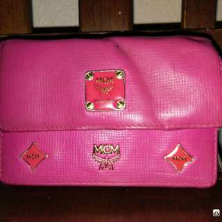 Wallet Leather MCM