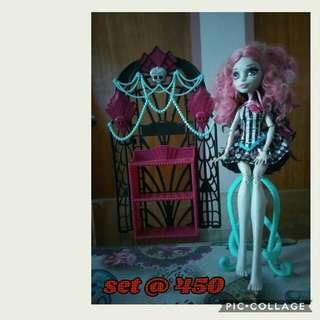 authentic articulated mattel dolls