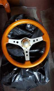 Wooden Steering Wheel(ITA)