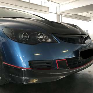 Honda civic FD/FD4 Add On Front Lower Lip