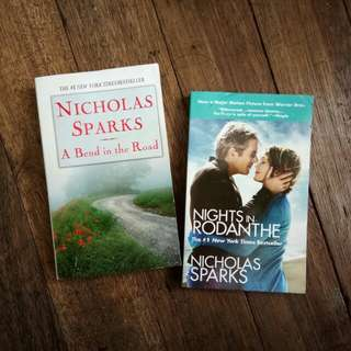nicholas sparks novel books SET