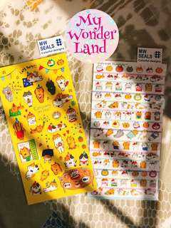 🔹可愛日本貓手帳貼紙🔹