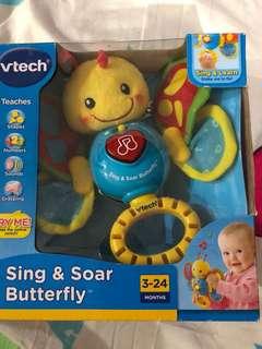 vtech sing &soar butterfly