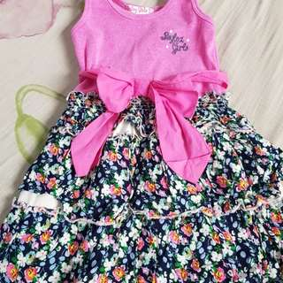 Floral Dress for ages 3 to 5