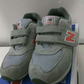 New Balance Grey Toddler Shoes Size US10