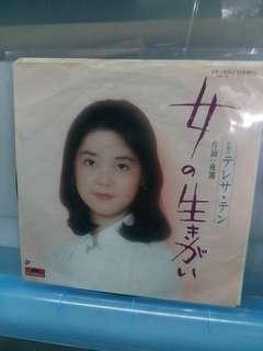 邓丽君日本做细7吋碟(不是大碟得几首歌)