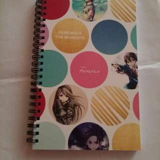 Notebook with Own Name