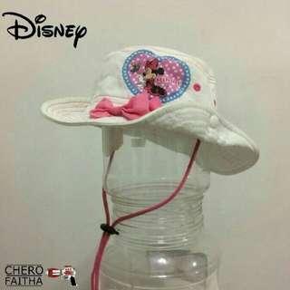 Disney minnie mouse bucket hat kids topi budak