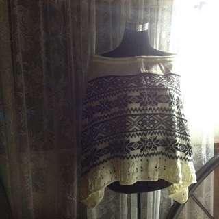 TARGET BOUGHT KNITTED PONCHO $85USD