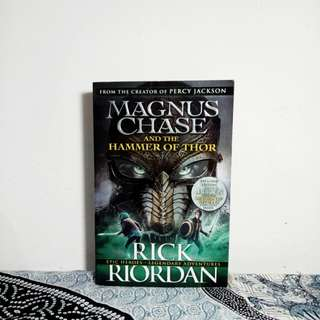 Magnus Chase and The Hammer of Thor(2)