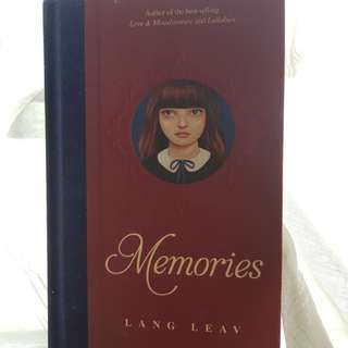 Lang Leav - Memories HARD COVER