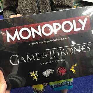 Monopoly Game of Thrones (GoT) Edition