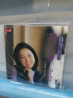 邓丽君(7吋)日製黑膠唱片)不是大碟得二首歌