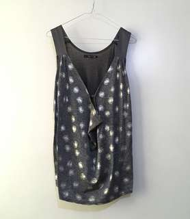 Charity Sale! Authentic Minimal by 2068 From Japan Sleeveless Flowy Soft Women's Top Size Small