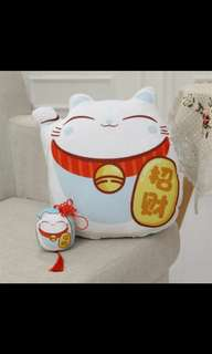 *In-stock* Lucky / Fortune Cats Cushion Pillow
