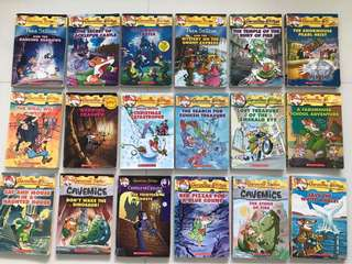 Geronimo Stilton 18 books set