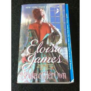 A Duke Of Her Own, Eloisa James