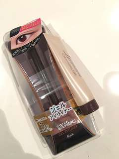 Black gel eyeliner