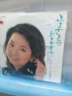 邓丽君(7吋)日制黑膠唱片不是大碟得几首歌