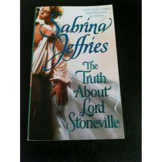 The Truth About Lord Stoneville, Sabrina Jeffries