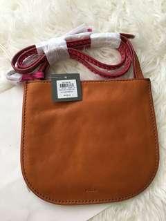 Fossil brooklyn crossbody vintage brown bag