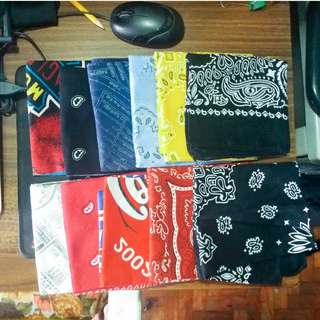 Assorted Bandanas (11 Pieces)