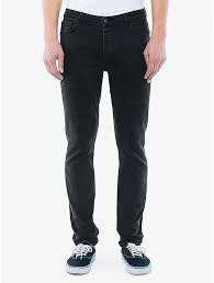 Men's AA Black Denim Pants