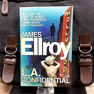 # Novel《New Book Condition + Crime Mystery Thriller》James Ellroy - L.A. CONFIDENTIAL
