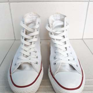 Authentic Converse White