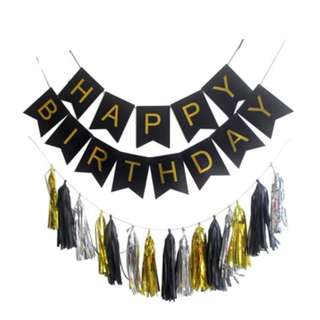(in Stock) Party Decoration Set-Happy Birthday