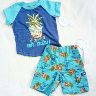 Pineapple or Tropical clothes