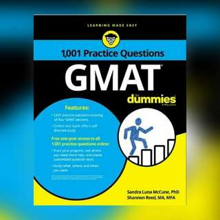 1,001 GMAT Practice Questions For Dummies Ebook