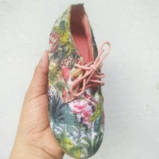 Authentic Zara Floral Shoes