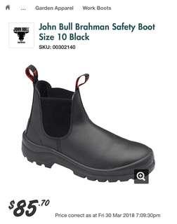 Brand New John Bull Men's work boots Size 10