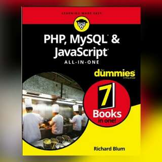 PHP MySQL JavaScript For Dummies 7 in 1 Ebook
