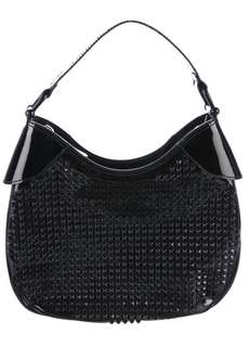BURBERRY ELLY STUDDED HOBO BAG