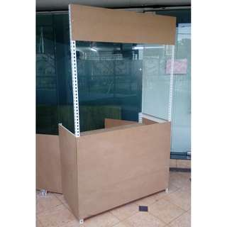 Burger Stall With Locker Cabinet ( Boltless ) @ Custom Made