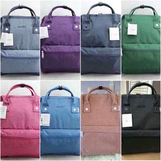 Ä N E L L O COTTON BACKPACK RESELLERS ARE WELCOME ❤️❤️ ✔️offers lowest price ✔paperbag  ‼️authentic overrun quality‼️  ✈️we ship worldwide ✈️we ship nationwide  🌻open for resellers 🌻pm us for orders