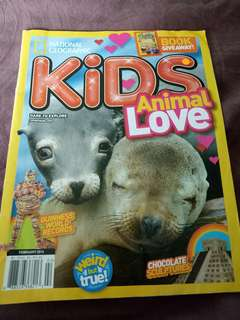 National Geographic kids animal love