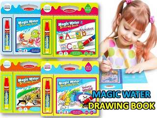 Magic water drawig book