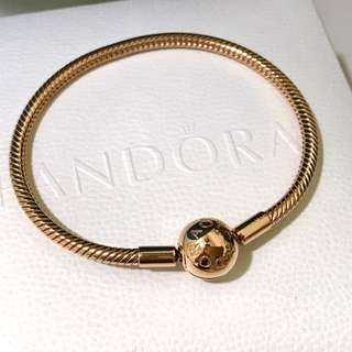 authentic Pandora Bracelet (limited rose gold edition) on fire sale!