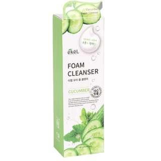 PRE-ORDER Ekel Cucumber Facial Foam Cleanser