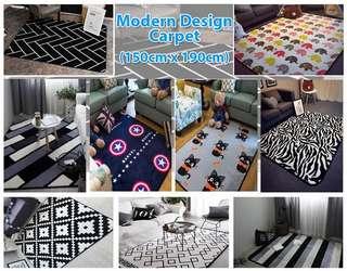 Modern Ikea Design Carpet (150x190cm)