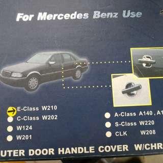 Mercedes Benz w210. Outer door handle cover.
