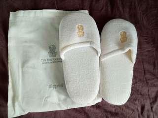 Slippers sendal hotel Ritz Carlton