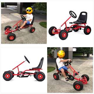 4 Wheels Mountain Bicycle Children Rally Speed Car Kids