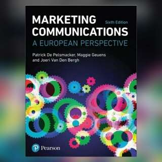 Marketing Communications: A European Perspective, 6th Edition Ebook