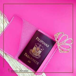 Meraki Passport Holder Pink
